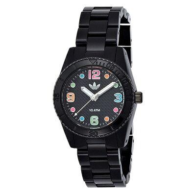 アディダス 時計 レディース 腕時計 ブリスベン ミニ マルチカラー ブラック ADH2943 ビジネス 女性 ブランド 【仕事用】 誕生日 お祝い プレゼント ギフト お洒落