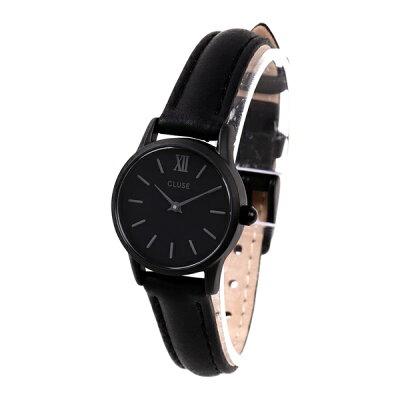 クルース レディース 腕時計 ラ・ヴェデット 24ミリ FULL BLACK レザー CL50015 ビジネス 女性 ブランド 時計 誕生日 お祝い プレゼント ギフト お洒落
