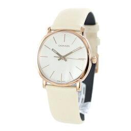 カルバンクライン 腕時計(レディース) CALVIN KLEIN カルバンクライン CK スイス製 時計 レディース 腕時計 Posh ポッシュ 32ミリ ゴールド ベージュ レザー 革 K8Q336X2