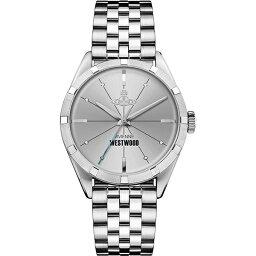 ヴィヴィアンウエストウッド 【キャッシュレス5%還元】ヴィヴィアン ウエストウッド 時計 メンズ 腕時計 シルバー ステンレス VV192SLSL ビジネス 男性 ブランド 誕生日 お祝い プレゼント ギフト
