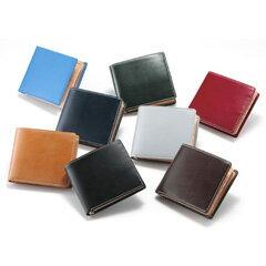 【在庫あり】ブリティッシュグリーン 財布 革 レザー メンズ 【送料無料・正規品】【ブリティッシュグリーン ブライドルレザー 二つ折り財布 62789】 おしゃれな財布