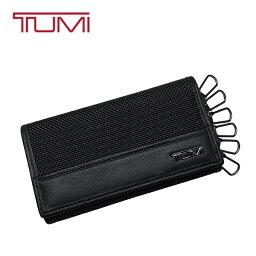 トゥミ TUMI キーケース トゥミ 6連 キーホルダー バリスティックナイロン 本革 レザー カードケース 黒 ブラック
