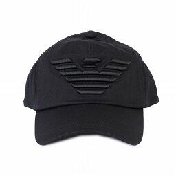 アルマーニ エンポリオアルマーニ EMPORIO ARMANI キャップ メンズ帽子 627522 CC995 00020 ブラック メンズ BASEBALL 誕生日 ブランド かっこいい プレゼントにも 高級 20代 30代 40代 50代 60代 ポイント消化