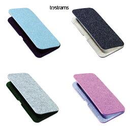 トライストラムス  【trystrams】トライストラムス ペンケース・SEAMLESS<ブルー/ネイビーブルー、ダークグレー/ベージュ、ライトグレー/ダークグリーン、ピンク/グレー> 10P03Sep16