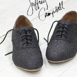 ジェフリーキャンベル 【 セール sale 】 ジェフリーキャンベル フラット ラメ レースアップ JEFFREY CAMPBELL メタリック 靴 シューズ 712