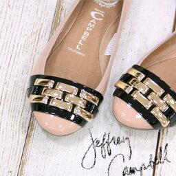 ジェフリーキャンベル 【 セール sale 】 正規品 ジェフリーキャンベル フラット パンプス JEFFREY CAMPBELL エナメル 靴
