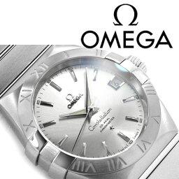 オメガ コンステレーション 腕時計(メンズ) OMEGA オメガ コンステレーション 自動巻き メンズ腕時計 シルバーステンレスベルト 123.10.38.21.02.001