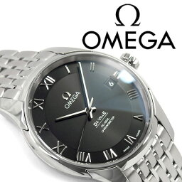 オメガ デ・ビル 腕時計(メンズ) OMEGA オメガ デ・ヴィル 自動巻き機械式 メンズ腕時計 ブラックダイアル ステンレスベルト 431.10.41.21.01.001