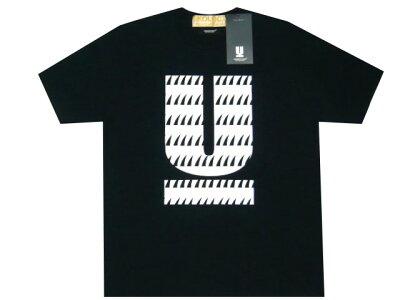 UNDERCOVER アンダーカバー SKOLOCT スコロクト コラボ 17AW 新品 Uロゴ プリントTシャツ 黒 NGAP