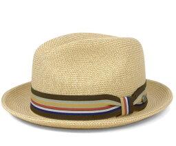 ベイリー  ベイリー(Bailey Hats)ハット ナチュラル ストローハット 中折れ 麦わら 帽子 HAT SALEM NATURAL [ストローハット 麦わら メンズ] [RV-1][P]