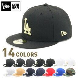 ニューエラ ニューエラ NEW ERA キャップ ロサンゼルス ドジャース フラットバイザー 59FIFTY CAP LA MLB 野球帽 春夏秋冬 メンズ レディース