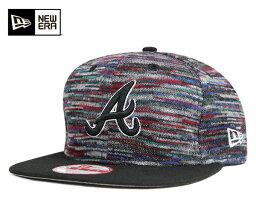 ニューエラ ニューエラ NEW ERA 9FIFTY スナップバックキャップ スクリプト MLB アトランタ ブレーブス パープル 帽子 メンズ レディース 【返品・交換対象外】