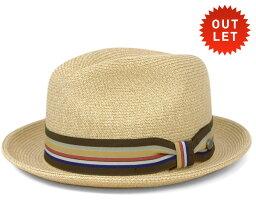 ベイリー  【アウトレット価格】ベイリー(Bailey Hats)ハット ナチュラル ストローハット 中折れ 麦わら 帽子 HAT SALEM NATURAL [ストローハット 麦わら メンズ] 【返品交換対象外】【RV-1】