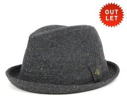 グーリン ブラザーズ 【アウトレット価格】グーリンブラザーズ(Goorin Brothers)ハット レベル チャコール 帽子 HAT REBEL CHARCOAL [メンズ][GY] #HA:F 【返品交換対象外】