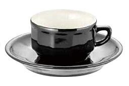 アピルコ アピルコ フローラ モカカップ&ソーサー(6客入) PTFL M FL ブラック【APILCO】【コーヒーカップ】【コーヒーコップ】【ティーカップ】【ティーコップ】【紅茶カップ】【業務用】
