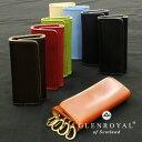 グレンロイヤル キーケース メンズ ブライドルレザー キーケース グレンロイヤル GLENROYAL 03-2558 全8カラー 4 HOOK KEY CASE 4連キーケース レザー