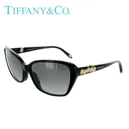 ティファニー Tiffany ティファニー サングラス TF4069BA 80013C 58 ブラック/スモークグラデーション レディースブランド 女性 国内正規品 UVカット