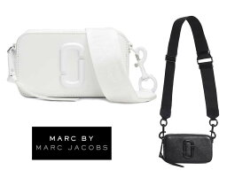 マークバイ マークジェイコブス ポシェット マークジェイコブス(Marc by Marc Jacobs)SNAPSHOT DTMスナップショット レザーショルダーバッグ ブラック ホワイト ポシェット【あす楽対応_関東】