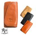 イルビゾンテ(Il Bisonte)レザーキーケース/キーリング/レディース/メンズ/Keyring in Cowhide Leather C0251P 410092【あす楽対応_関東】