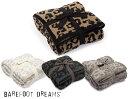 ベアフット ドリームス ブランケット ベアフットドリームス(Barefoot Dreams)レオパード柄シングルサイズブランケット/リバーシブル毛布/アニマル柄【あす楽対応_関東】
