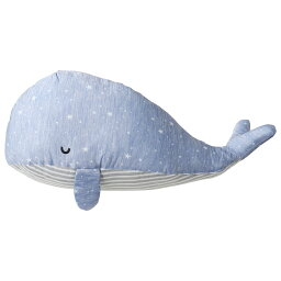 クジラ 接触冷感 アニマル 抱き枕 くじらさん 60cm ブルー / 枕 まくら くじら 動物 ふわふわ 気持ちいい 青 キャラクター おしゃれ かわいい 使いやすい ひんやり 落ち着く 抱っこ お昼寝 夏 夏物 快眠 激安 送料無料