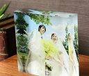 フォトキューブ アクリルフォトプリント 15x15x4cm   日経MJ掲載 クリスマス プレゼント 子ども 写真 プリント ギフト 名入 アクリル キューブ フォト フレーム 誕生日 出産祝 フォトフレーム ウェディング 記念品 結婚式
