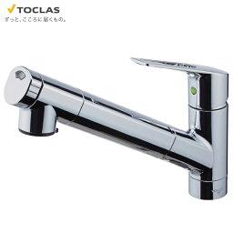 TOCLAS トクラス TOCLAS トクラス 浄水器内蔵シャワー混合水栓【AWJSA1HSK】水栓一体タイプ除去対象:13+4物質カートリッジ1ヶ同梱