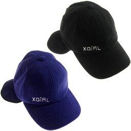 エックスガール 帽子 レディース 【40%OFF セール(SALE)】エックスガール X-GIRL STAGES フリースキャップ/帽子 CAP キャップ (メール便OK) S(48-50cm)/(L(54-56cm) XGIRL 子供服 ベビー服