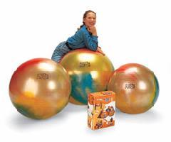バランスボール 【Wアクションポンププレゼント】バランスボール 65cm ギムニク アルテ65 虹色 送料無料