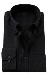ドゥエボットーニ ドレスシャツ 長袖 高級 ワイシャツ | メンズ シャツ ノーネクタイ おしゃれ ビジネス ボタンダウンシャツ ドゥエボットーニ 黒 カッターシャツ 綿100% スリム ビジネスシャツ Yシャツ カラーシャツ 結婚式 長袖シャツ スリムフィット 黒シャツ 二次会 父の日 ギフト 紳士