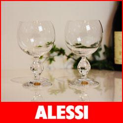 アレッシィ 【送料無料】【正規販売店】ALESSI ( アレッシィ )/ アレッシー Porthos ポルトス ワイングラス 2客入り 【smtb-ms】【RCP】.
