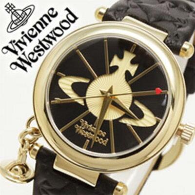 ヴィヴィアンウェストウッド 時計 VivienneWestwood 腕時計 ヴィヴィアン ウェストウッド Vivienne Westwood 腕時計 ヴィヴィアン ウエストウッド ビビアン ヴィヴィアン時計 レディース 女性 向け 彼女 妻 嫁 プレゼント ブラック レザー ベルト 革 オーブ