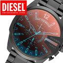 腕時計 ディーゼル(メンズ) ディーゼル 時計 DIESEL時計 ディーゼル 腕時計 DIESEL 腕時計 ディーゼル時計 DIESEL 時計 ディーゼル腕時計 DIESEL腕時計 メガチーフ MEGACHIEF メンズ ブラック DZ4318 クロノグラフ ブラックポラライザー オールブラック レッド 黒 赤 白 ゴールド 送料無料