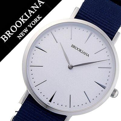 0f2c5b0477 ブルッキアーナ腕時計 BROOKIANA時計 BROOKIANA 腕時計 ブルッキアーナ 時計 メンズ レディース ホワイト BA3102-SWNNV  北欧 Instagram