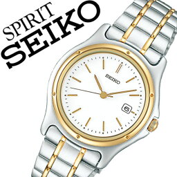セイコースピリット 【5年保証対象】セイコー スピリット 腕時計 SEIKO SPIRIT 時計 セイコースピリット 時計 SEIKOSPIRIT 腕時計 セイコー スピリット時計 SEIKO SPIRIT時計 レディース ホワイト SSXV026 スピリッツ メタル ベルト シルバー ペア ウォッチ ゴールド ギフト 送料無料