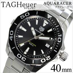 アルミニウム 腕時計(メンズ) タグホイヤー 腕時計[ TAGHeuer 時計 ]タグ ホイヤー 時計[ TAG Heuer 腕時計 ] アクアレーサー Aquaracer メンズ/ブラック WAY111A.BA0928 [メタル ベルト/タグ・ホイヤー/スイス/シルバー/ダイバー/アルミニウム][プレゼント/ギフト][送料無料]