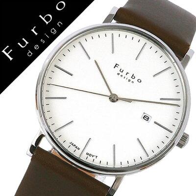 【5年保証対象】フルボデザイン 腕時計 Furbodesign 時計 フルボ デザイン 時計 Furbo design 腕時計 メンズ ホワイト F02-SWHLG [ イタリア スタイル 人気 定番 スーツ ビジネス フォーマル ファッション おしゃれ デザイン レザー カーキ プレゼント ギフト][送料無料]