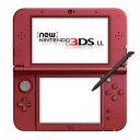 ニンテンドーDS 【新品】【3DS】 New ニンテンドー3DS LL 本体 メタリックレッド [RED-S-RAAA]【02P03Dec16】