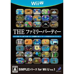 Wii Party U 【新品】【Wii U】 SIMPLEシリーズ for Wii U Vol.1 THE ファミリーパーティー [WUP-P-AFPJ]