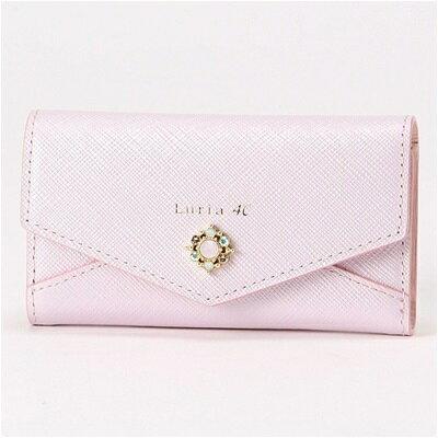 ルリアヨンドシー Luria 4℃ キーケース ピンク