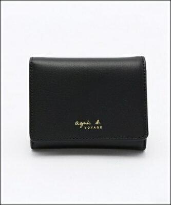 アニエスベー 折財布 ブラック agnes b. VOYAGE