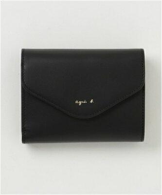 アニエスベー ウォレット 折財布 ブラック