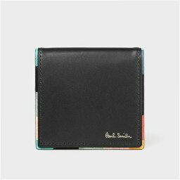 ポールスミス ポールスミス アーティストストライプポップ コインケース 小銭入れ ブラック