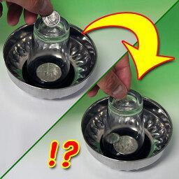 コイン ◆マジック・手品◆グラスを貫通するコイン◆M2251