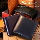 ホワイトハウスコックス 二つ折り財布(メンズ) Hackney/ハックニー ブライドルレザー&イタリアンレザー HK-011 二つ折り財布
