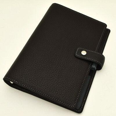 ASHFORD(アシュフォード) システム手帳 ジェム BIBLE 19mm ホックベルト 7225-179 ブラック 【ペンハウス】(17000)