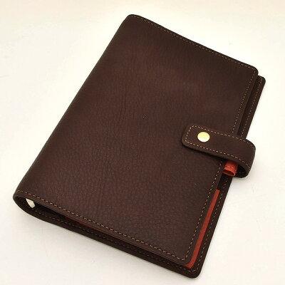 ASHFORD(アシュフォード) システム手帳 ジェム BIBLE 19mm ホックベルト 7225-284 ブラウン 【ペンハウス】(17000)