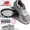 ニューバランス 送料無料 限定店舗品 スニーカー W990 new balance ニューバランス レディース カジュアル シューズ 靴 Made in USA アメリカ製 グレー
