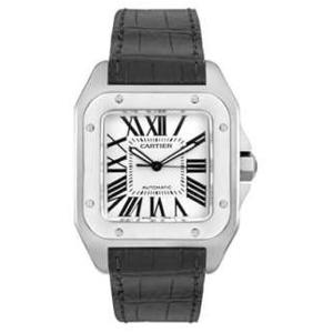 新品 即日発送可 カルティエ サントス100 自動巻き 時計 メンズ 腕時計 W20073X8