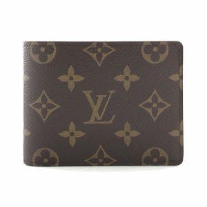 【あす楽対応】 ルイヴィトン モノグラム ポルトフォイユ・ミュルティプル 二つ折り 財布 M60895